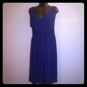 RSVP Pleated Top Sleeveless Dress